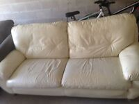 *** Beautiful Cream-White Couch In Great Condition ***