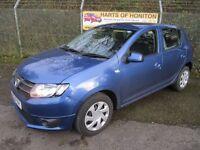 Dacia Sandero 1.2 Laureate 16V 5DR (sargasso blue) 2013