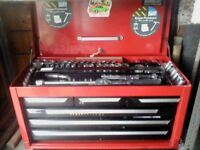 Toolbox and various tools