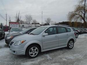 2007 Pontiac Vibe-ONLY 73,000 KM-NEW TIRES-EXTRA CLEAN-RARE!