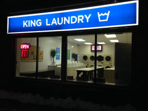 NEWLY RENOVATED PROFITABLE COIN LAUNDROMAT FORSALE