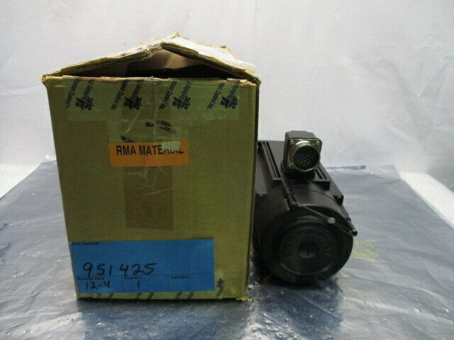 Berkeley ASM121-B-0/B-16-NB/10 AC Brushless Servo Motor 951425, 3000 RPM, 324315