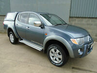 Mitsubishi L200 Warrior Double Cab Pick Up 2008 08 reg NO VAT