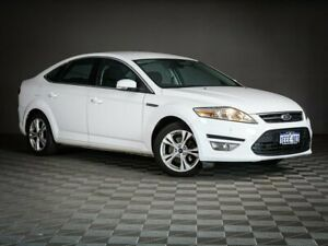 2012 Ford Mondeo MC Zetec EcoBoost White Sports Automatic Dual Clutch Maddington Gosnells Area Preview