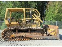 1972 CAT D6C BULLDOZER DOZER