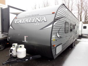 BUNKS BEDS--JUST IN-2017 CATALINA 261--SPECIAL INTRO PRICE