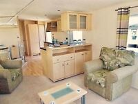2 bed DG & CH Static caravan for sale on northumberland coast 5* facilities open 12 months low fees