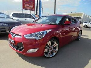 2013 Hyundai Veloster FS2 + Red 6 Speed Manual Hatchback Holroyd Parramatta Area Preview