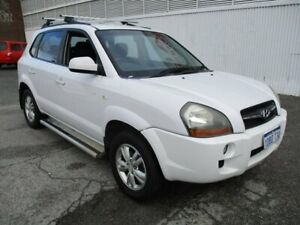 2009 Hyundai Tucson 08 Upgrade City SX White 5 Speed Manual Wagon West Perth Perth City Area Preview