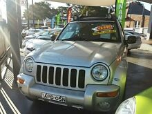 2002 Jeep Cherokee KJ MY2003 Renegade Silver 4 Speed Automatic Wagon Haberfield Ashfield Area Preview
