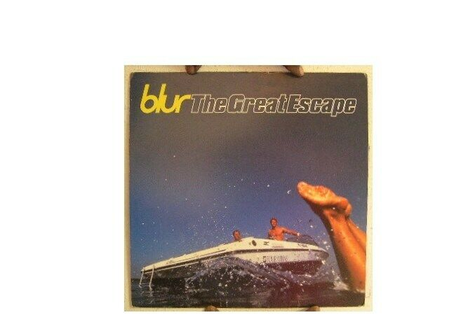 Blur Poster  The Great Escape  Two Sided Gorillaz The Good The Bad and & The Qu