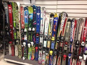 Used Downhill skis 90 100 110 120 125 130 135 140 145 150 155 cm