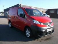 Nissan Nv200 1.5 DCI 89 BHP ACENTA VAN DIESEL MANUAL RED (2015)