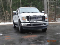 2008 Ford F-250 blanc Camionnette