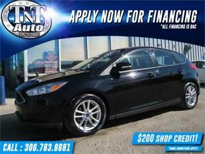 2016 Ford Focus SE Hatch LOW KM-BACK UP CAMERA-APPLY NOW!