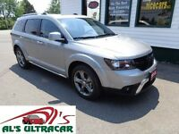 2015 Dodge Journey Crossroad FWD only $103 weekly all in!