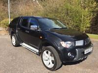 2009 59 MITSUBISHI L200 2.5 4WD WARRIOR NO VAT ON TOP 4DR PICK UP 134 BHP DIESEL