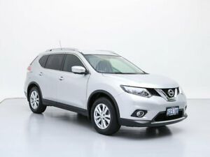 2017 Nissan X-Trail T32 ST-L (FWD) Silver Continuous Variable Wagon