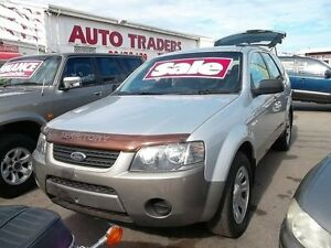 2005 Ford Territory SX TX (4x4) Silver & Grey 4 Speed Auto Seq Sportshift Wagon Woodville Park Charles Sturt Area Preview