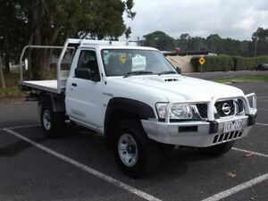 2009 Nissan Patrol GU MY08 DX (4x4) White 5 Speed Manual Timboon Corangamite Area Preview