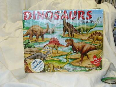 NEW Melissa & Doug Dinosaurs Floor Puzzle 48 Pieces  #421 Melissa & Doug Toys Dinosaur Floor Puzzle