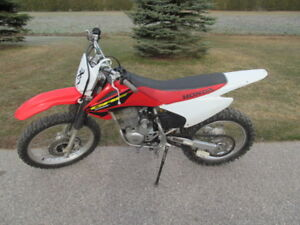 2006 Honda CRF 230F with Ownership