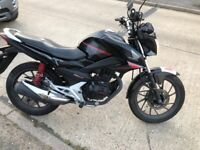 Honda cb125f cbf125 px welcome can deliver can accept cards