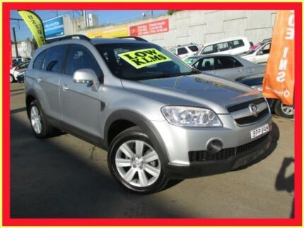 2006 Holden Captiva CG LX (4x4) Silver 5 Speed Automatic Wagon Holroyd Parramatta Area Preview