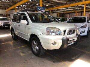 2004 Nissan X-Trail T30 II TI White Automatic Wagon Hamilton North Newcastle Area Preview