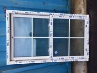 Brand New Veka Sliding Sash Double Glazed Window UPVC