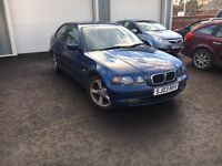 BMW 316TI SE Compact, Outstanding Condition, New MOT, Warranty, Service