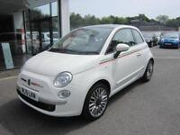 Fiat 500 1.2 Lounge 3dr PETROL MANUAL 2015/15
