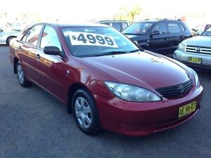 2005 Toyota Camry ACV36R Upgrade Altise Burgundy 4 Speed Automatic Sedan Broadmeadow Newcastle Area Preview