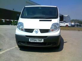 Renault Trafic LWB LL29dCi 115 EURO 4/5 DIESEL MANUAL WHITE (2014)