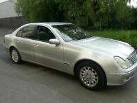 MERCEDES BENZ E220 CDI DIESEL AUTOMATIC LEATHER ALLOYS 4X4 4DR