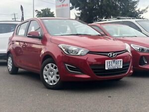 2014 Hyundai i20 Red Automatic Hatchback Hoppers Crossing Wyndham Area Preview
