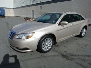 2014 CHRYSLER 200 LX WITH LEATHER