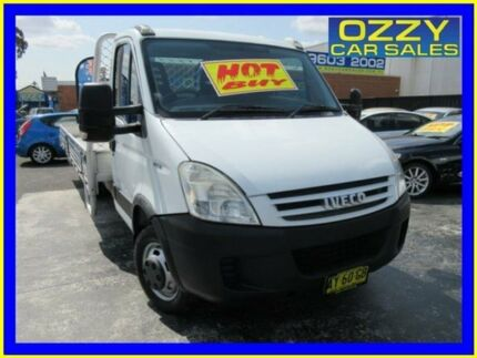 2007 Iveco Daily MY07 45C18 MWB White 6 Speed Manual Cab Chassis