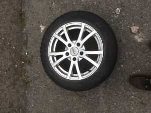Alloy Wheels with Blizzak Tires