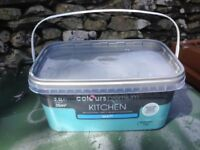 B&Q Matt Emulsion Kitchen Paint, 2.5 litres, Barbados Blue