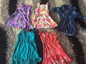 Summer dresses and other clothes - sizes 4 thru 6
