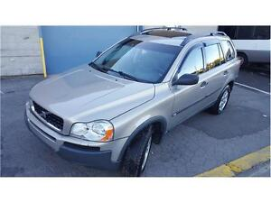 2004 Volvo XC90 2.5T AWD 7 Passagers, PROPRE