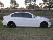 2009 BMW 320i E90 MY09 Executive White 6 Speed Steptronic Sedan Mayfield East Newcastle Area Preview