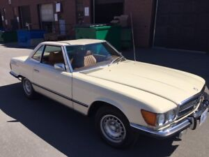 RESTORED MB 450SL CONVERTIBLE - A STEAL !!!!
