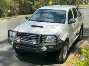 2014 Toyota Hilux KUN26R MY12 SR5 (4x4) White 4 Speed Automatic Dual Cab Pick-up Underwood Logan Area Preview