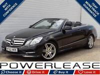 2012 62 MERCEDES-BENZ E CLASS 2.1 E250 CDI BLUEEFFICIENCY SPORT 2D 204 BHP DIESE