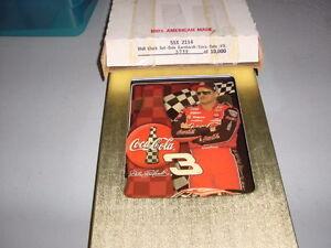 Dale Earnhardt Jr. & Sr Limited edition Clocks