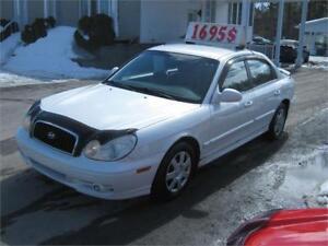 Hyundai Sonata GL V6 2003 PETIT BUDGET !!!