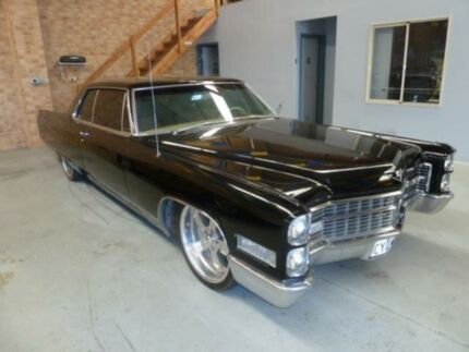1966 Cadillac De Ville  Black 3 Speed Automatic Sedan Wangara Wanneroo Area Preview