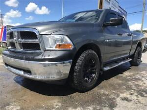 2011 DODGE RAM 1500 ST CREW CAB AFTER MARKET MAGS AND RUBBER
